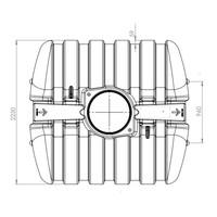thumb-Watertank TWN 5000 liter ondergronds-2