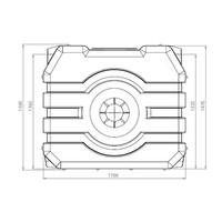 thumb-Watertank RHT 1500 liter ondergronds-2