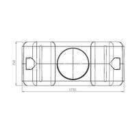 thumb-Watertank RHT 1500 liter ondergronds-3