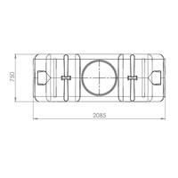 thumb-Watertank RHT 2000 liter ondergronds-3