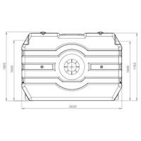 thumb-Watertank RHT 3000 liter ondergronds-2