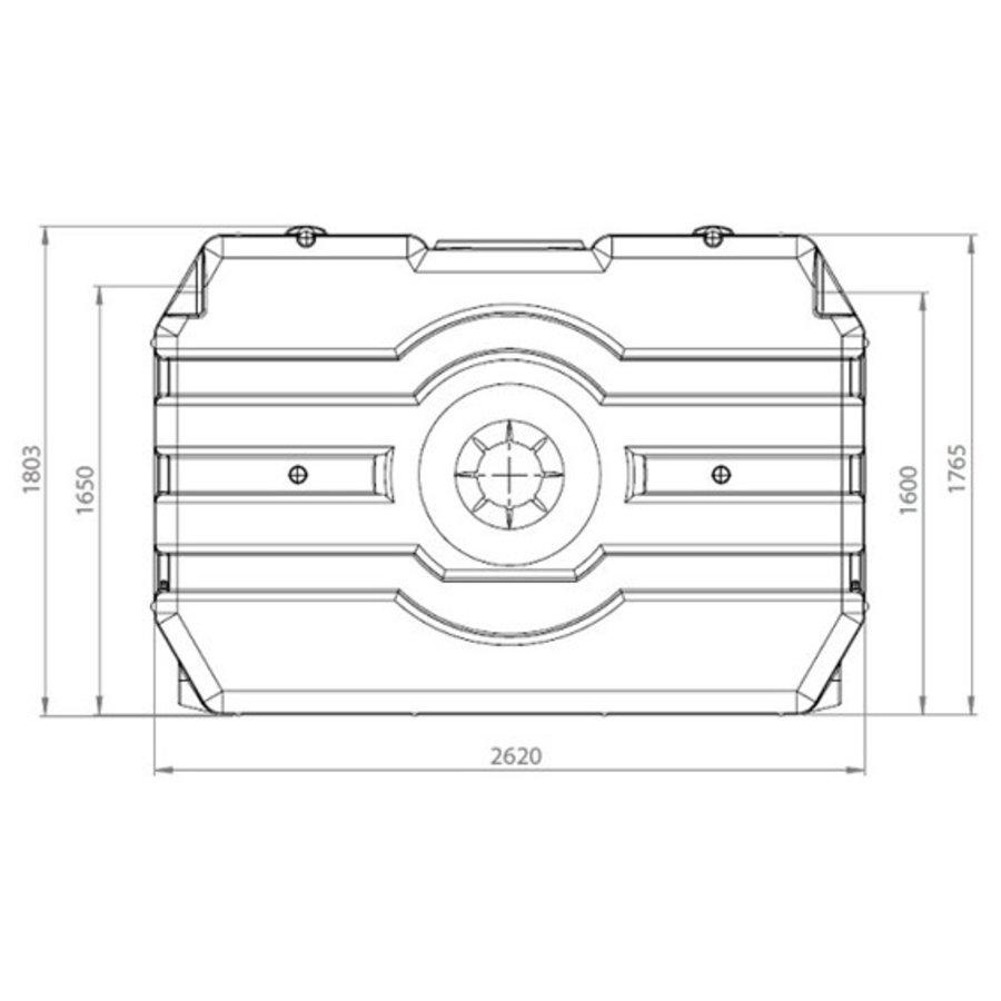 Watertank RHT 3000 liter ondergronds-2