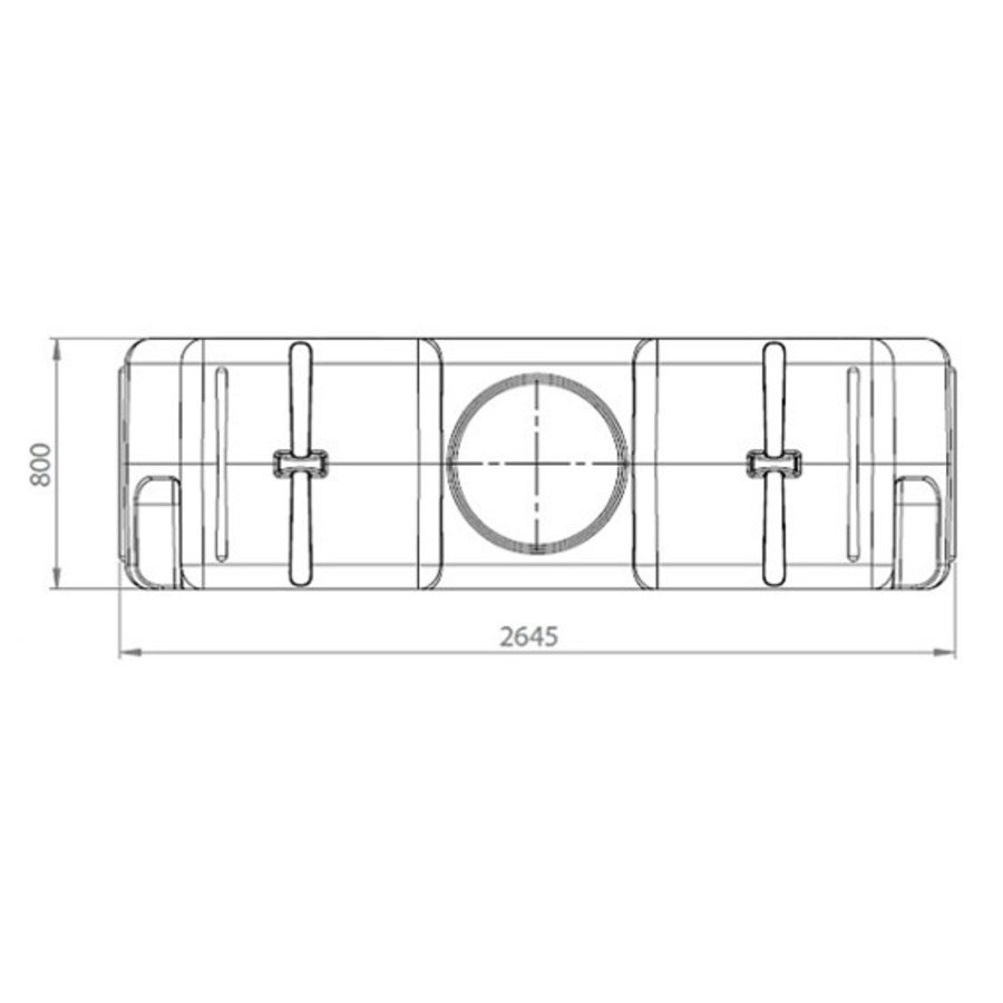 Watertank RHT 3000 liter ondergronds-3
