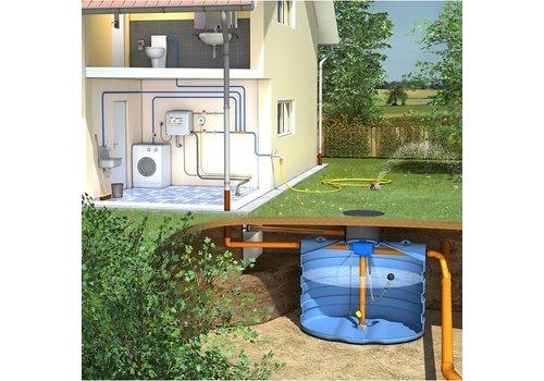 Huis-en tuinpakket PRM 5000 liter met pompsysteem en filter