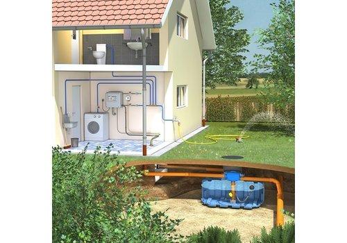 Huis-en tuinpakket ERD 1500 liter met pompsysteem en filter
