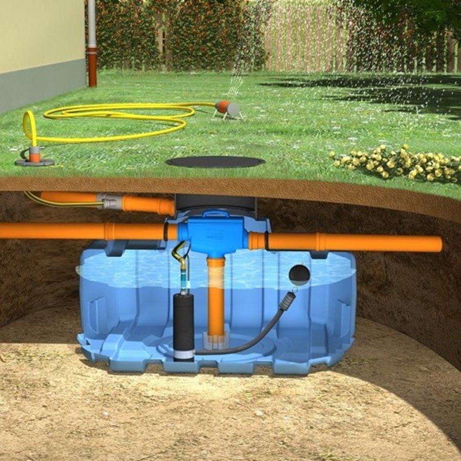 Tuinpakket ERD 1500 liter met pomp en filter-1