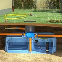 thumb-Tuinpakket ERD 3000 liter met pomp en filter-1
