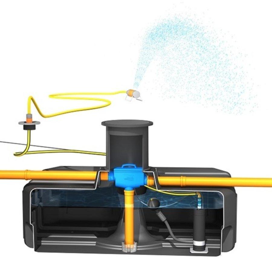 Tuinpakket ERD 3000 liter met pomp en filter-3
