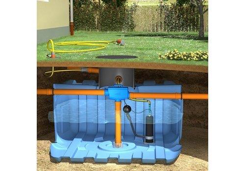 Tuinpakket ERD 5000 liter met pomp en filter