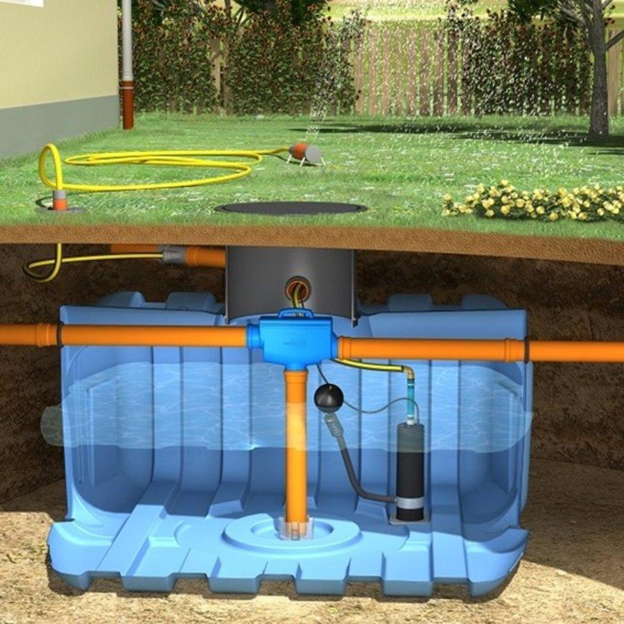 Tuinpakket ERD 5000 liter met pomp en filter-1