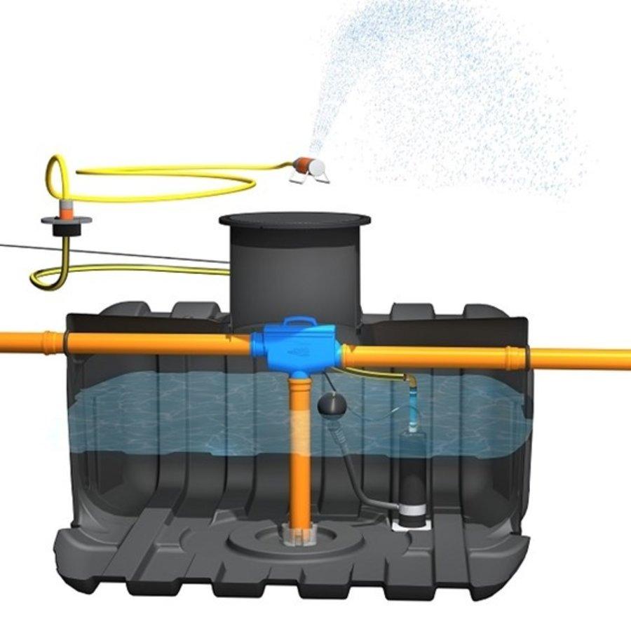 Tuinpakket ERD 5000 liter met pomp en filter-3