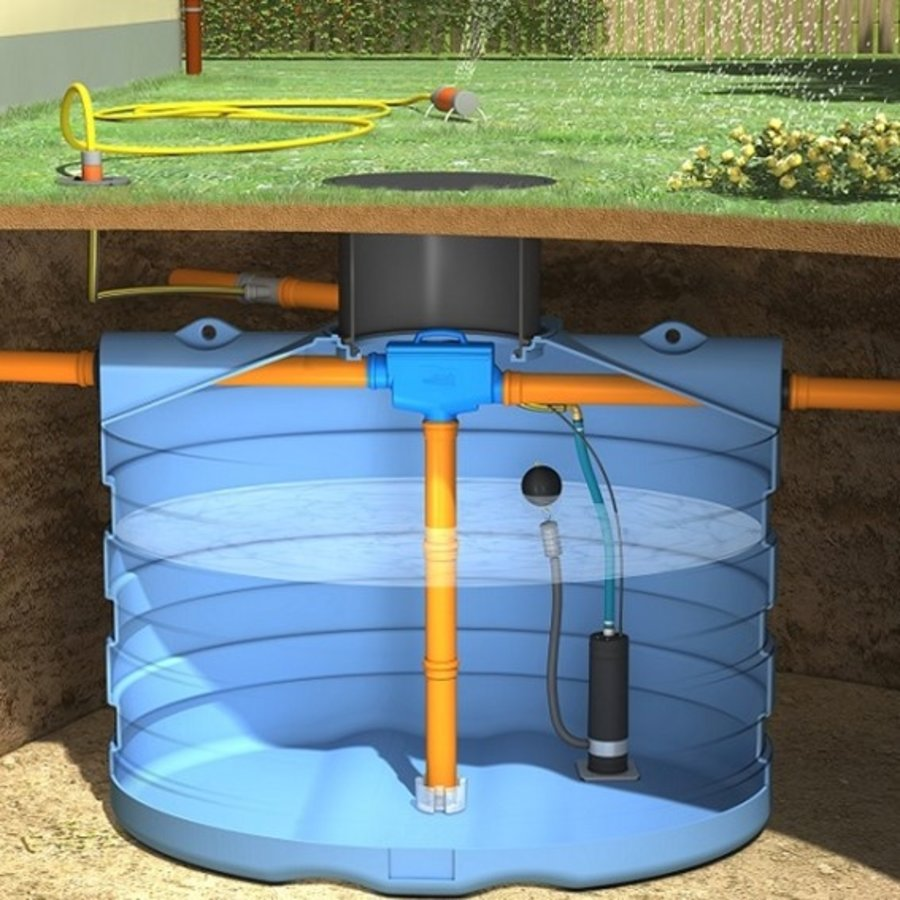 Tuinpakket PRM 4000 liter met pomp en filter-1