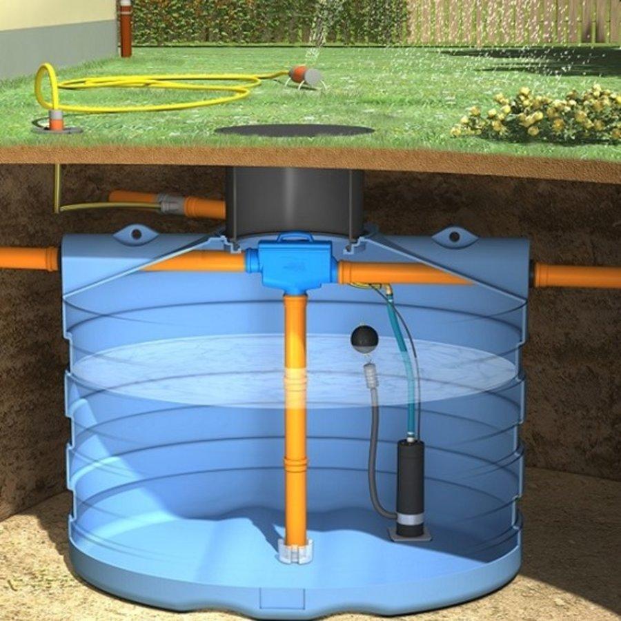 Tuinpakket PRM 6000 liter met pomp en filter-1