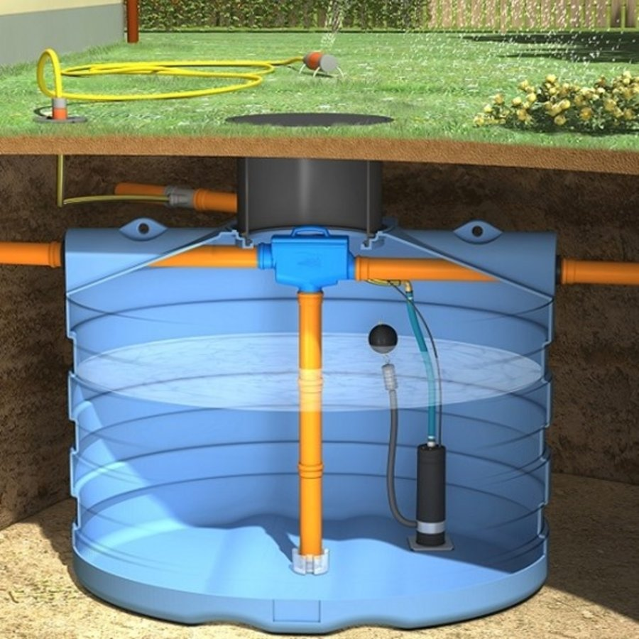 Tuinpakket PRM 7500 liter met pomp en filter-1