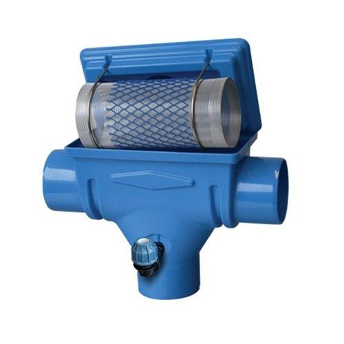 Regenwaterfilter compact geïntegreerd