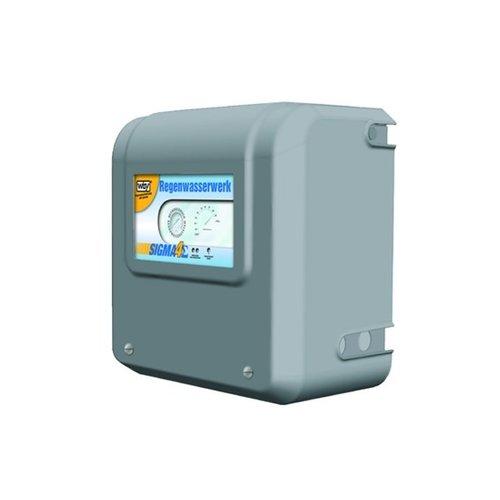 Volautomatische regenwatersysteem met geïntegreerde zuigpomp