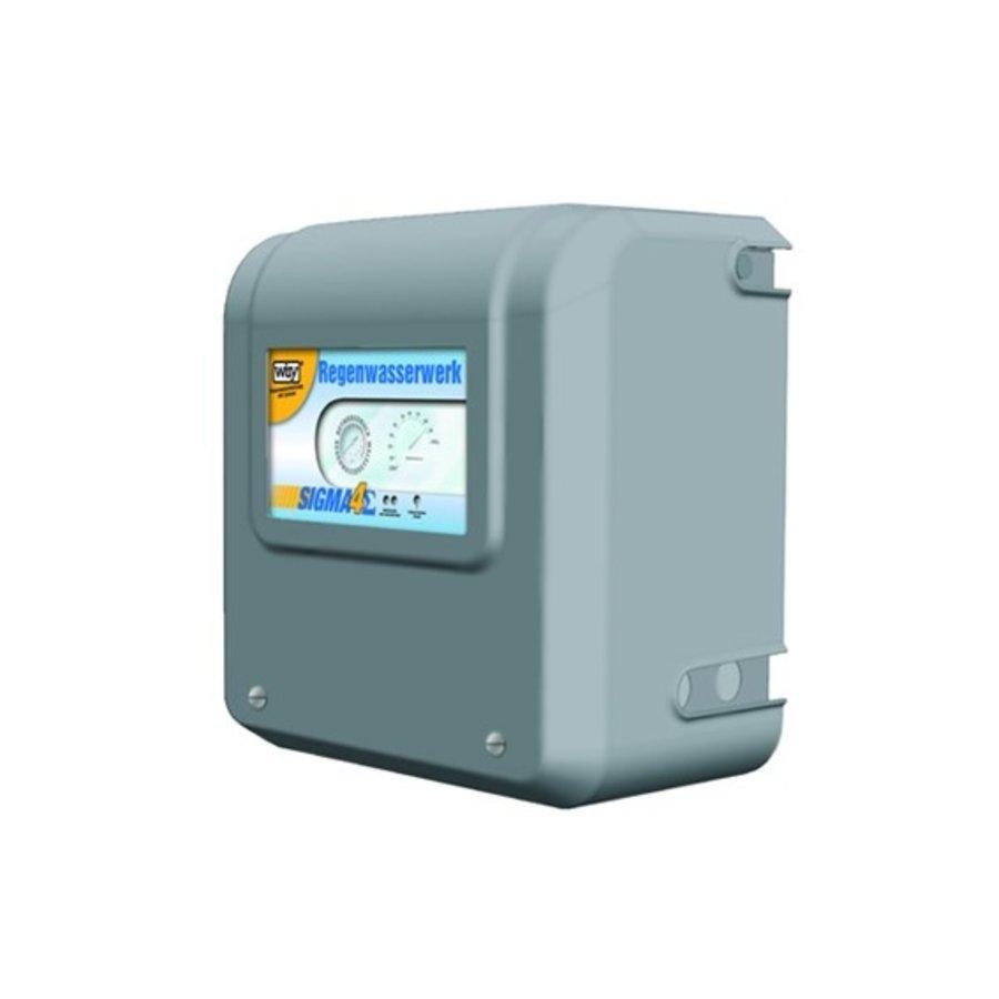 Volautomatische regenwatersysteem met geïntegreerde zuigpomp-1