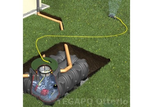 Tuinpakket PLTN 10000 liter met pomp en filter
