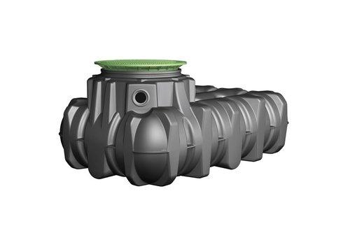 Watertank PLTN 7500 liter ondergronds