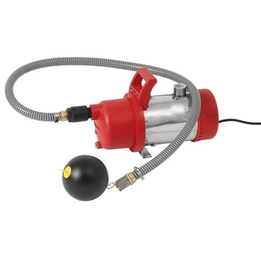 Onderwaterpomp met aan/uit regeling en drijvende filter aanzuiging-1