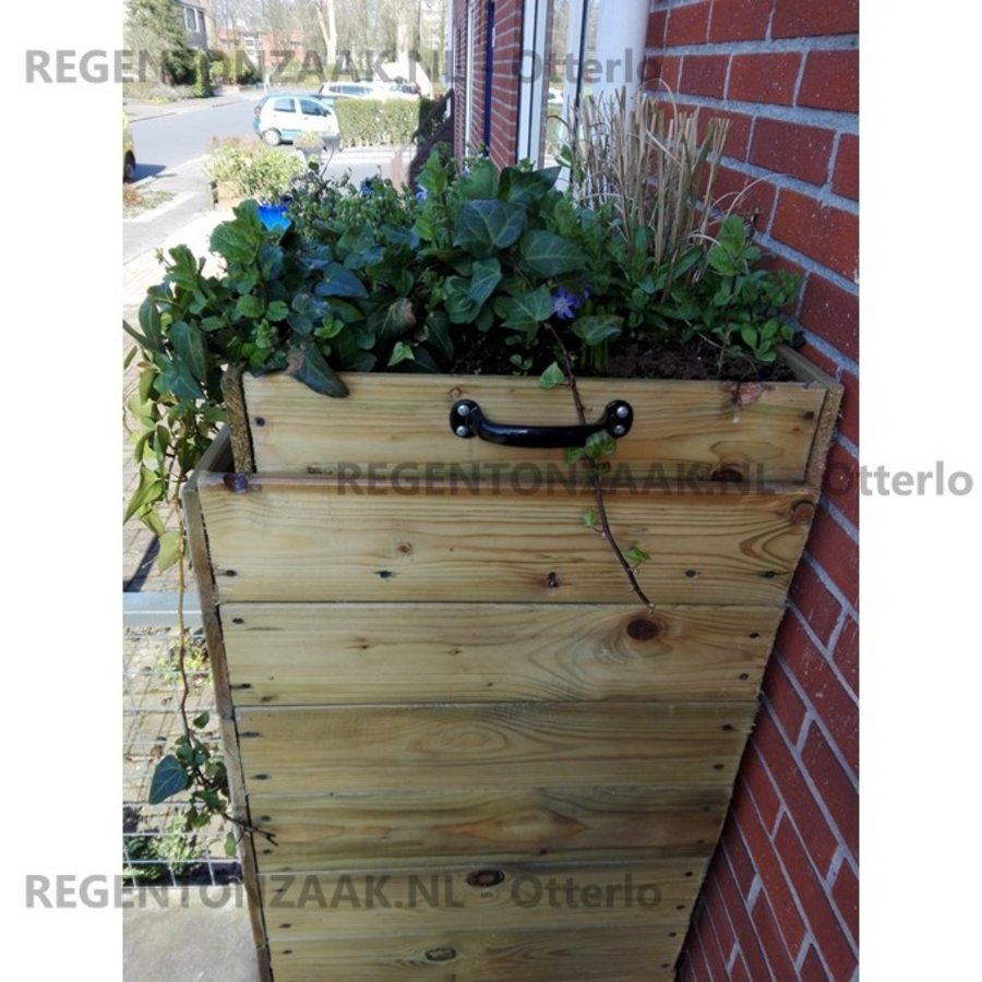 RainSave 100 liter groen 4-season promo set-3