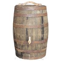 thumb-Eiken regenton whiskey 180 liter met deksel-2