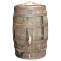 thumb-Eiken regenton whiskey 180 liter met deksel-1