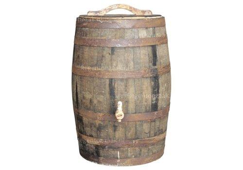 Eiken regenton whiskey 180 liter met deksel