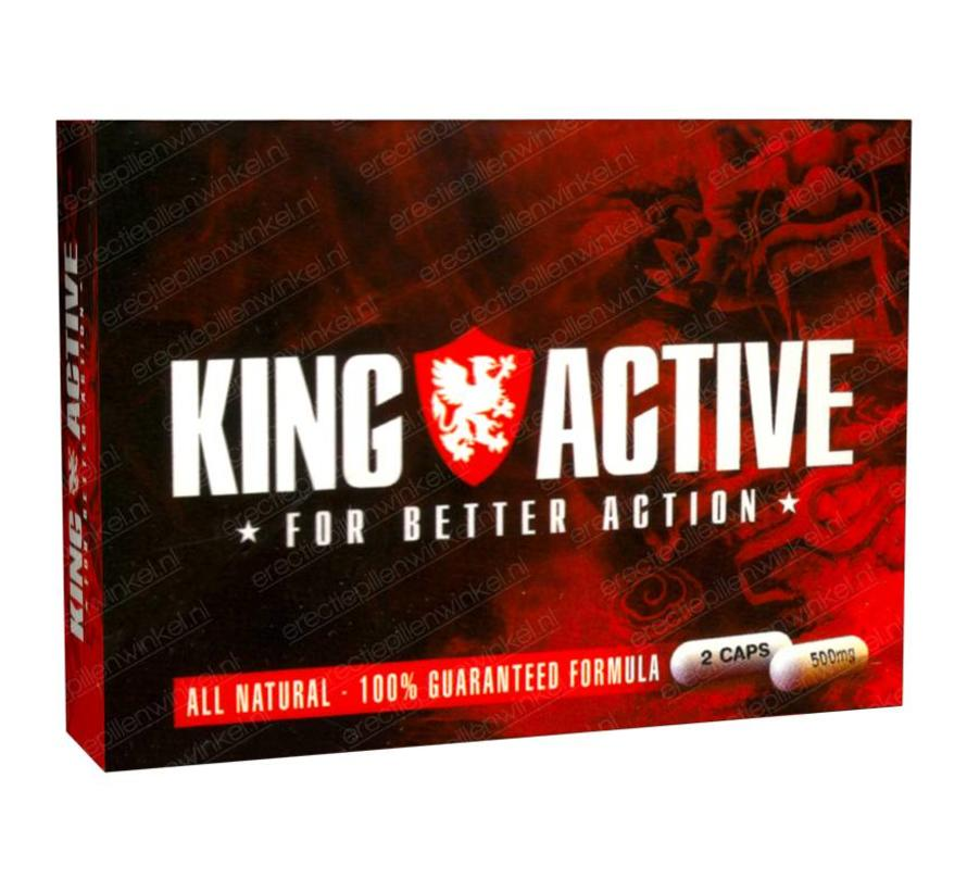 King Active - 2 capsules - Erectiepillen