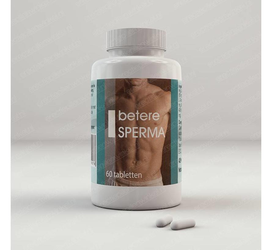 Betere Sperma 60 tabletten
