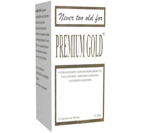 Premium Gold Premium Gold - 12 capsules - Erectiepillen