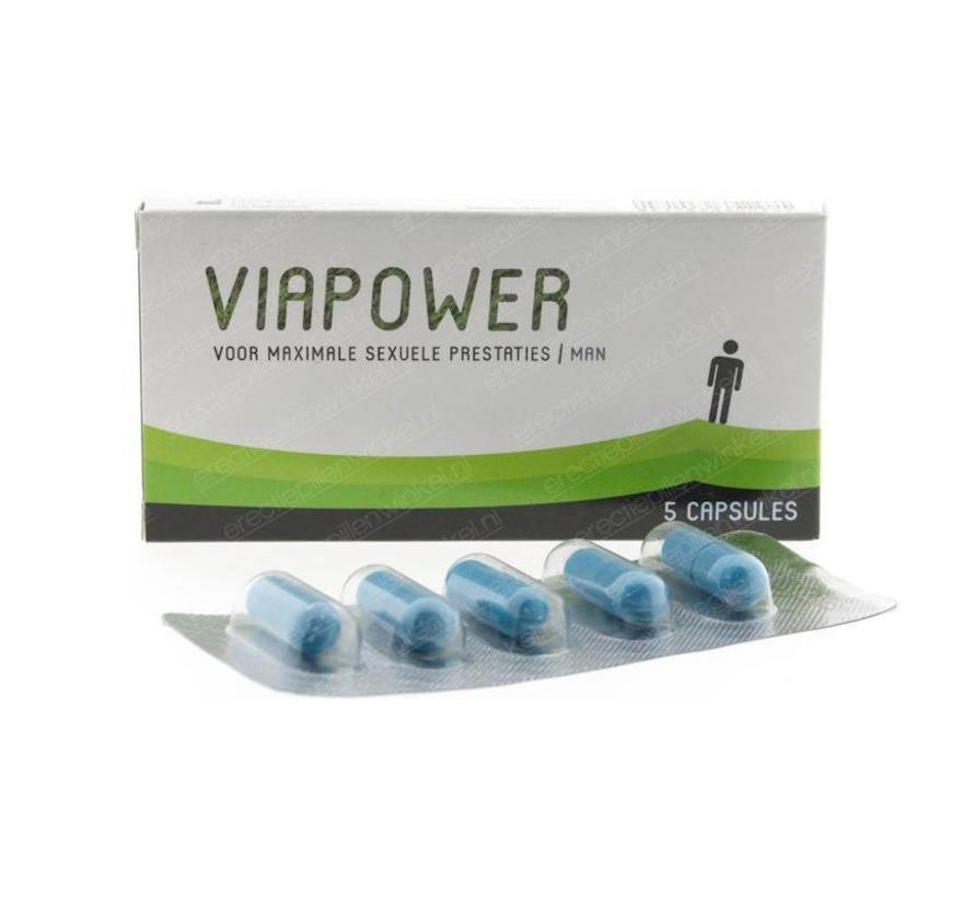 ViaPower - 5 capsules - Erectiepillen