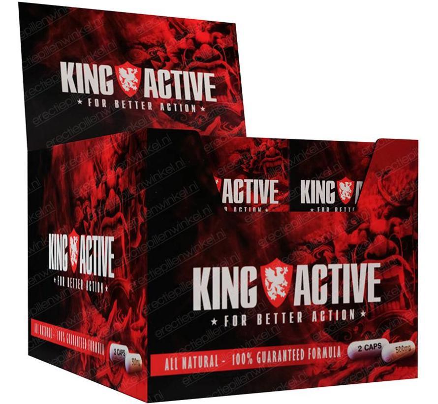 King Active - 80 capsules - Grootverpakking -Erectie
