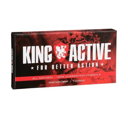 King Active King Active - 5 capsules  - Erectiepillen