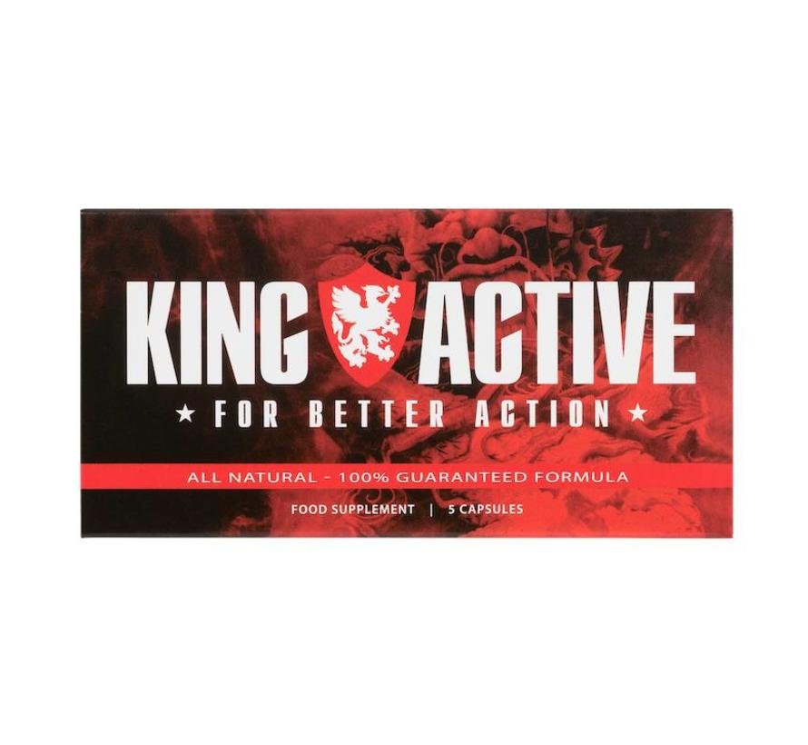 King Active - 5 capsules
