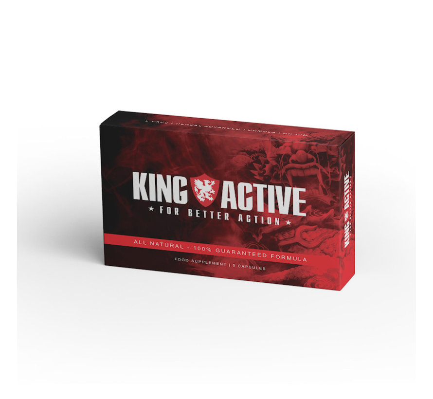 King Active - 5 capsules  - Erectiepillen