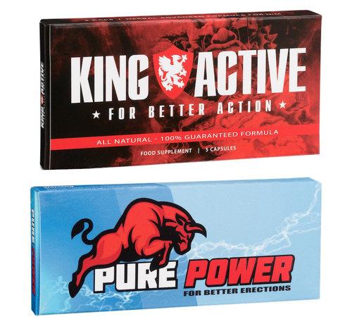 King Active Erectiepillen | Aanbieding | 10 capsules