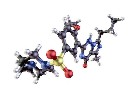 Chemische structuur vardenafil