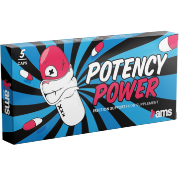 Amsterdam Max Stamina Potency Power - 5 caps