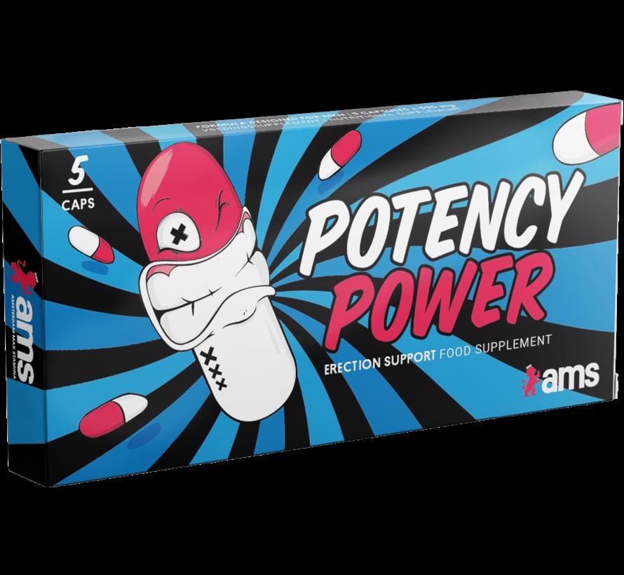 Potency Power - 5 capsules - Erectiepillen