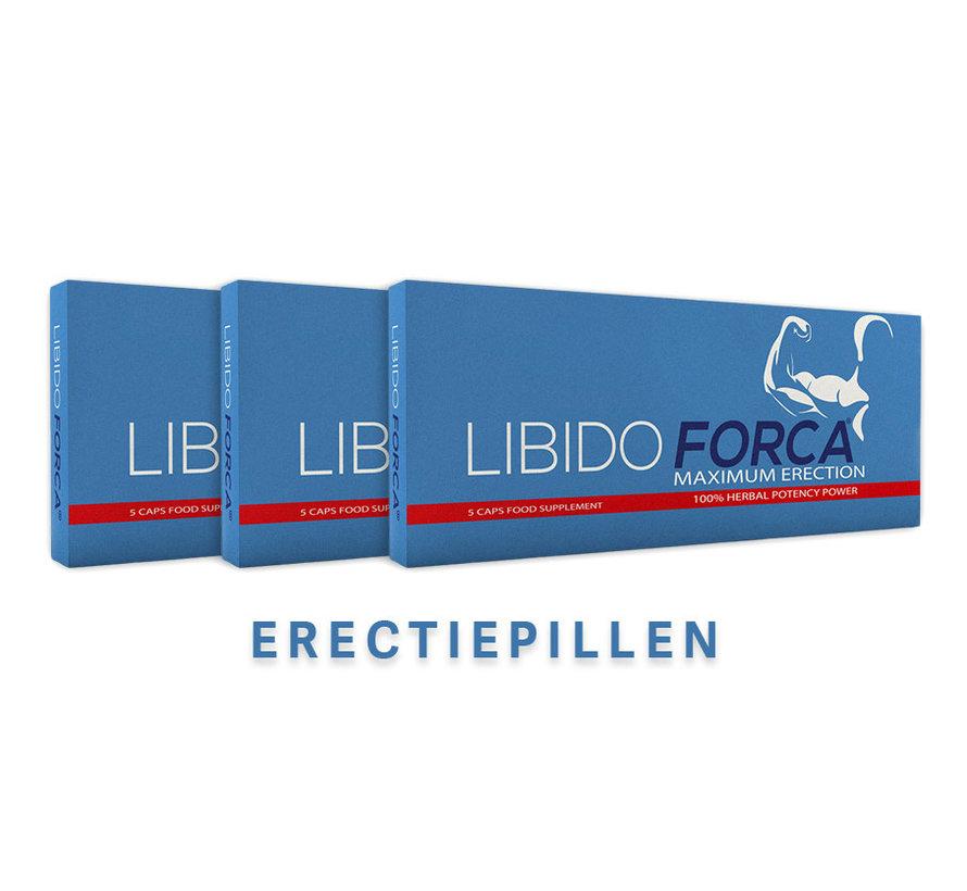 Libido Forca - 5 capsules  - Erectiepillen