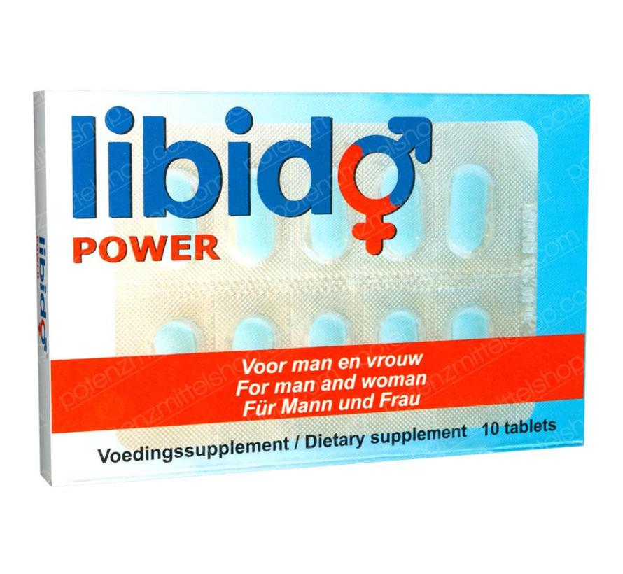 Libido Power - 10 tabletten - Potenzmittel