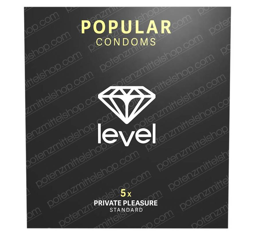 Level Popular Kondome 5 stück