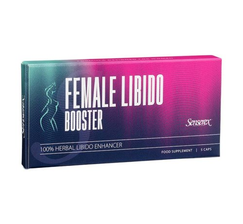 Senserex Female Libido Booster - 5 Kapseln - Potenzmittel Frau
