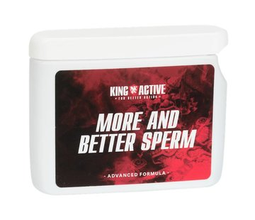 King Active More and Better Sperm - 60 Kaps