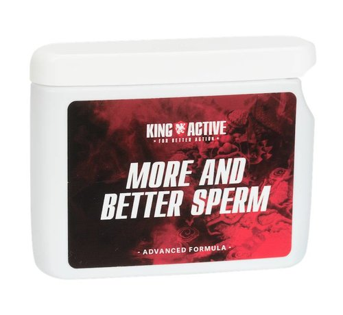 King Active More and Better Sperm - 60 Kapseln - Mehr Sperma