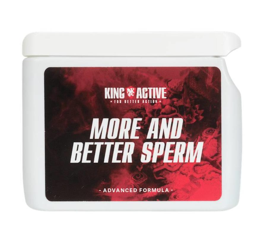 More and Better Sperm - 60 Kapseln - Mehr Sperma