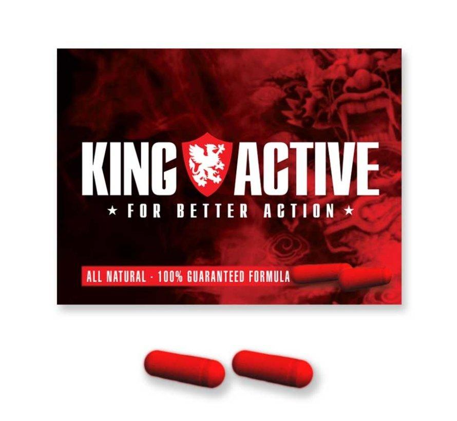 King Active - 80 Kapseln - Potenzmittel