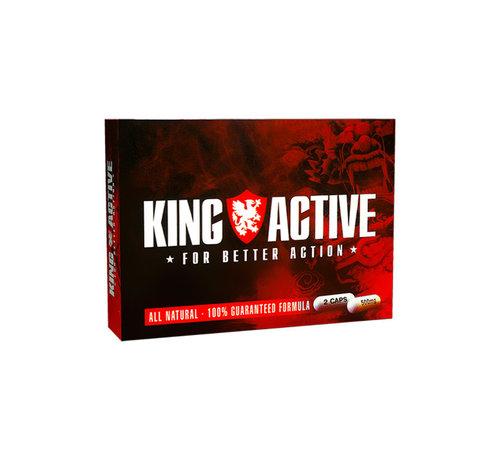 King Active King Active - 2 Kapseln - Potenzmittel