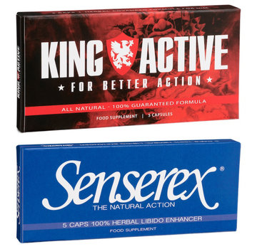 King Active Potenzmittel Paket - 10 Kaps